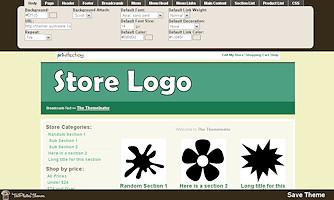 TeePlates Themer Store Designer